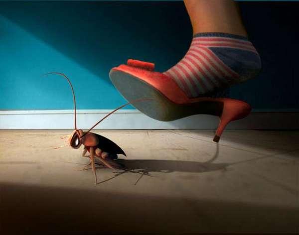 Тараканы от соседей