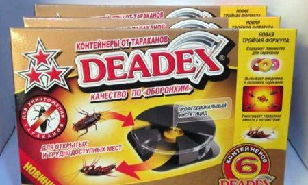 deadex от тараканов