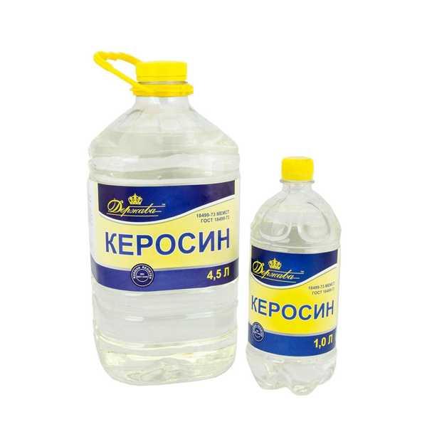 Использование керосина для выведения вшей