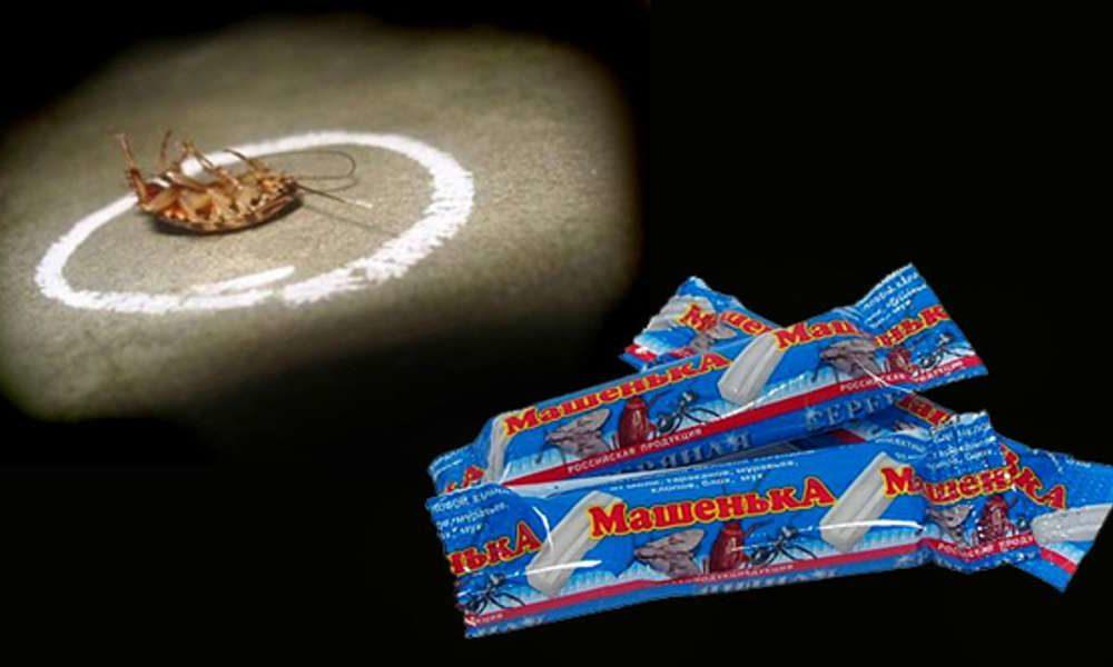 Мелок Машенька от тараканов - инструкция по применению