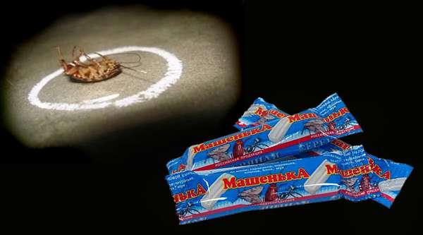 мелок от тараканов Машенька