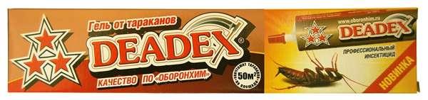 Отзывы о геле Deadex
