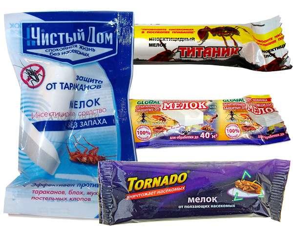 Инсектицидные средства промышленного производства для избавления в общежитии